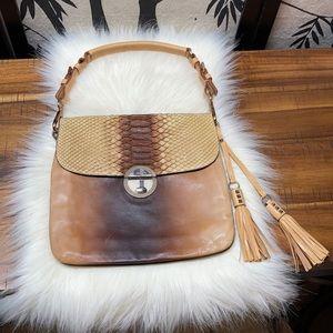 RARE Prada Pitone Shoulder Bag